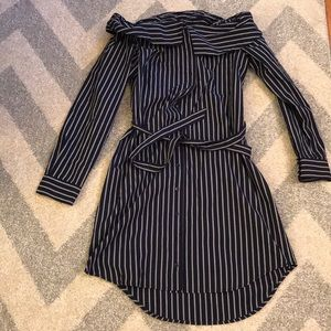 BarIII Striped Dress